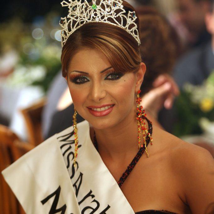 كلوديا حنا ملكة جمال - االعرب 2006-