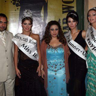 السيدة حنان نصر مع فتيات العالم العربي حفل خيرى بالاردن