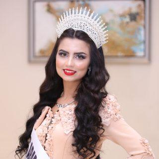 الوصيفة الثالثة للجزائرية سهى زيد