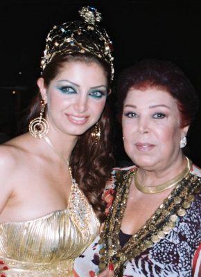 رجاء الجداوي عضو لجنة تحكيم ملكة جمال العرب 2007-min
