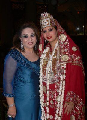 حنان نصر مع ملكة جمال العرب 2009